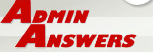 logo: Admin Answers ... the solution for all your virtual Personal Assistant needs
